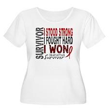 Survivor 4 Heart Attack Shirts and Gifts T-Shirt