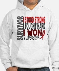 Survivor 4 Heart Attack Shirts and Gifts Hoodie