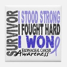 Survivor 4 Esophageal Cancer Shirts and Gifts Tile