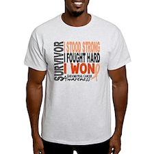 Survivor 4 Endometrial Cancer Shirts and Gifts Lig