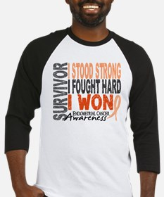 Survivor 4 Endometrial Cancer Shirts and Gifts Bas