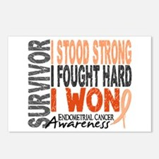 Survivor 4 Endometrial Cancer Shirts and Gifts Pos