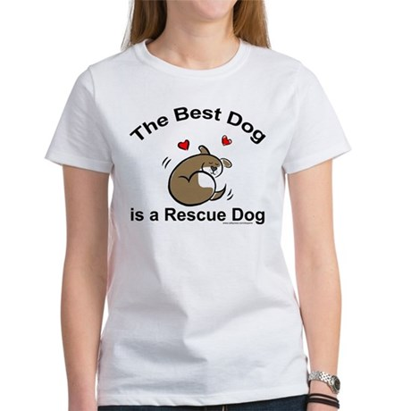 Best Rescue Dog Women's T-Shirt