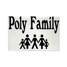 Poly Family Rectangle Magnet