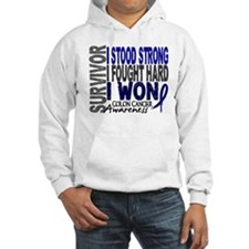 Survivor 4 Colon Cancer Shirts and Gifts Hoodie