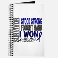 Survivor 4 Colon Cancer Shirts and Gifts Journal