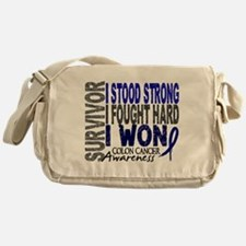 Survivor 4 Colon Cancer Shirts and Gifts Messenger