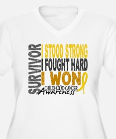 Survivor 4 Childhood Cancer Shirts and Gifts Women