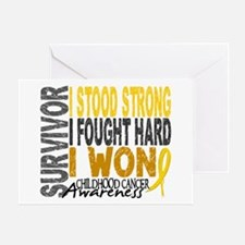 Survivor 4 Childhood Cancer Shirts and Gifts Greet