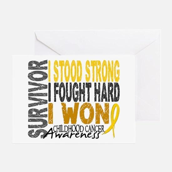 Survivor 4 Childhood Cancer Shirts and Gifts Greet