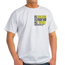 Survivor 4 Bladder Cancer Shirts and Gifts T-Shirt