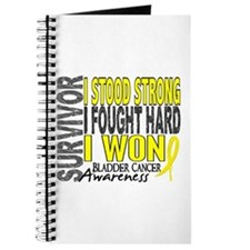 Survivor 4 Bladder Cancer Shirts and Gifts Journal
