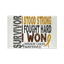 Survivor 4 Appendix Cancer Shirts and Gifts Rectan