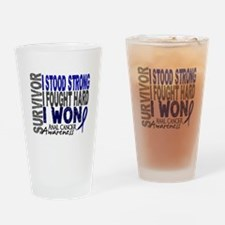 Survivor 4 Anal Cancer Shirts and Gifts Drinking G