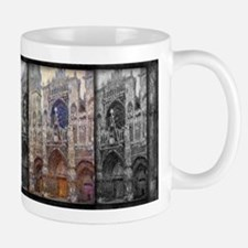 Rouen Cathedral, Grey Weather, Monet, Mug