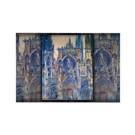 Rouen Cathedral, Study of the Portal, Monet, Recta