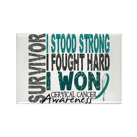 Survivor 4 Cervical Cancer Shirts and Gifts Rectan