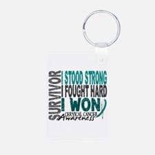 Survivor 4 Cervical Cancer Shirts and Gifts Alumin
