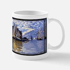 Monet Painting, Sailboats, 1864-66, Mug