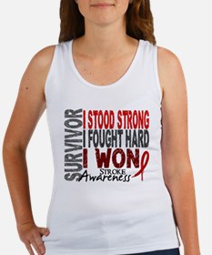 Survivor 4 Stroke Shirts and Gifts Women's Tank To