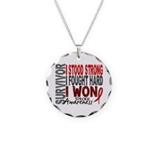 Survivor 4 Stroke Shirts and Gifts Necklace