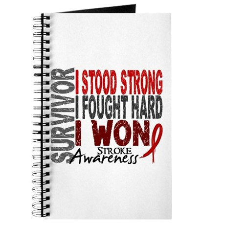 Survivor 4 Stroke Shirts and Gifts Journal