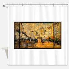 Saint-Lazare Station, Sunlight Effect, Monet, Show
