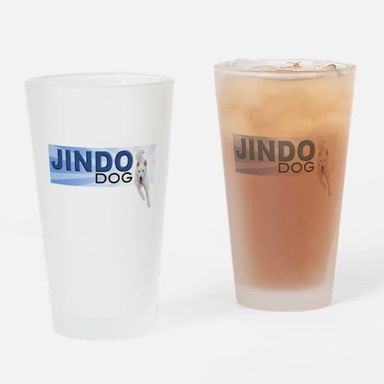 Jindo run Drinking Glass