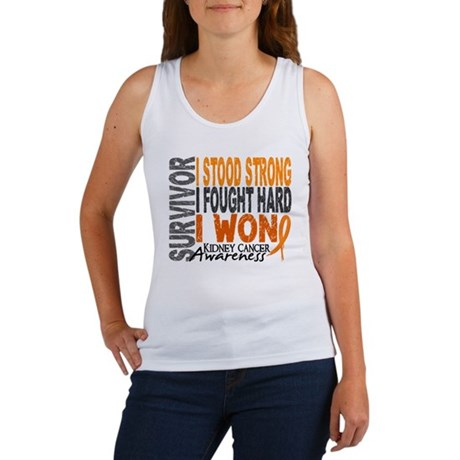 Survivor 4 Kidney Cancer Shirts and Gifts Women's