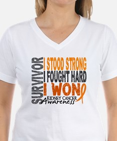 Survivor 4 Kidney Cancer Shirts and Gifts Shirt