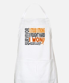Survivor 4 Kidney Cancer Shirts and Gifts Apron