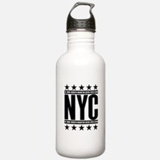NYC Boroughs Water Bottle
