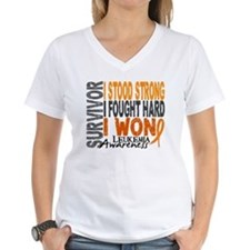 Survivor 4 Leukemia Shirts and Gifts Shirt