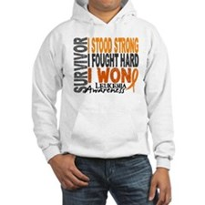 Survivor 4 Leukemia Shirts and Gifts Hoodie