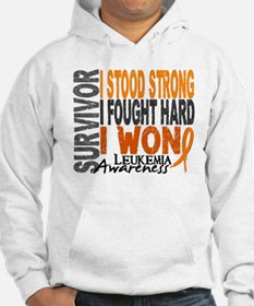 Survivor 4 Leukemia Shirts and Gifts Hoodie