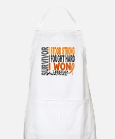 Survivor 4 Leukemia Shirts and Gifts Apron