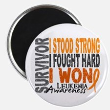 Survivor 4 Leukemia Shirts and Gifts Magnet