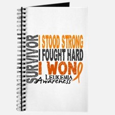 Survivor 4 Leukemia Shirts and Gifts Journal