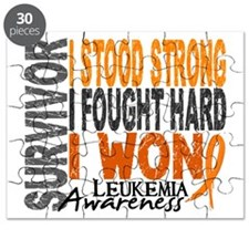 Survivor 4 Leukemia Shirts and Gifts Puzzle