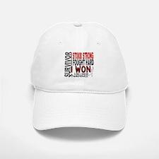 Survivor 4 Lung Cancer Shirts and Gifts Baseball Baseball Cap