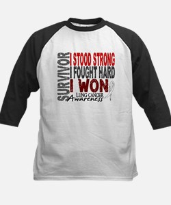 Survivor 4 Lung Cancer Shirts and Gifts Tee