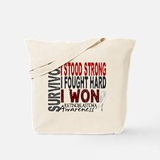 Survivor 4 Retinoblastoma Shirts and Gifts Tote Ba