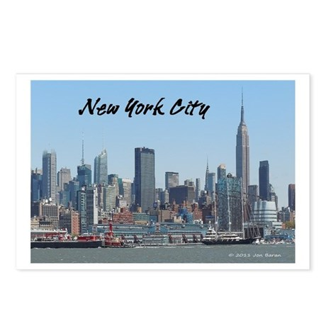 New York Skyline Postcard (Package of 8)