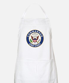 Commander and Chef Apron
