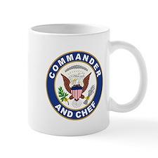 Commander and Chef Mug
