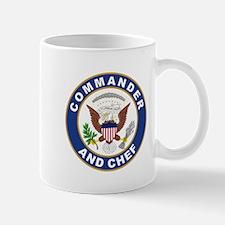 Commander and Chef Small Small Mug