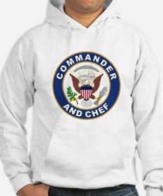 Commander and Chef Hoodie
