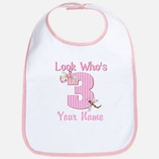 3rd Birthday Dragonfly Bib
