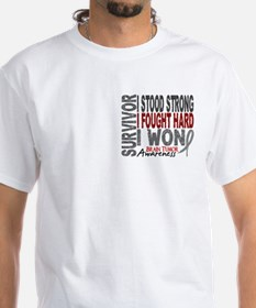 Survivor 4 Brain Tumor Shirts and Gifts Shirt