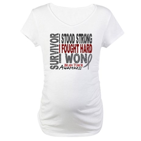 Survivor 4 Brain Tumor Shirts and Gifts Maternity